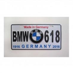 پلاک BMW