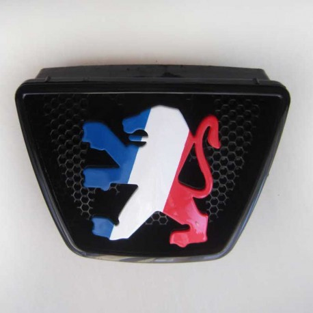 آرم طرح پرچم فرانسه جلو پژو 405
