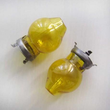 قاب لامپ زرد