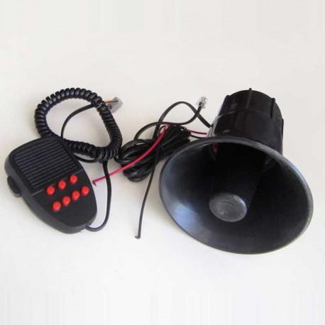 آژیر پلیسی 7 دکمه قرمز