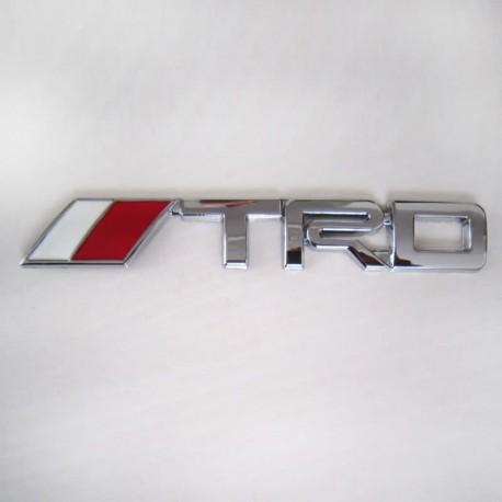 آرم فلزی برجسته طرح استیل TRD