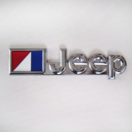 آرم فلزی برجسته طرح استیل Jeep