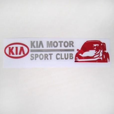 آرم KIA MOTOR SPORT CLUB