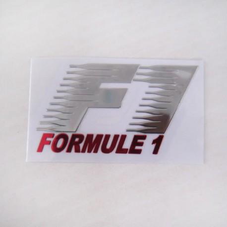 آرم FORMULE 1