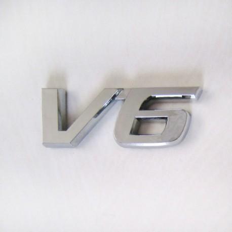 آرم V6 طرح استیل پیوسته