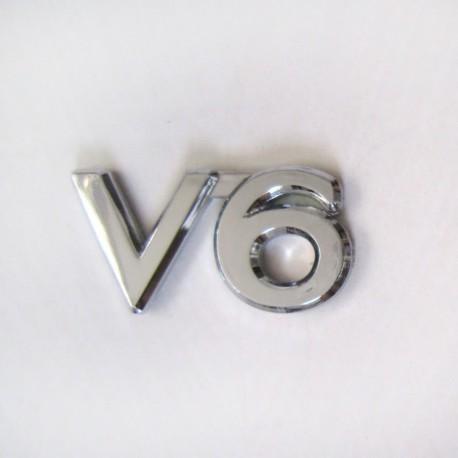 آرم V6 طرح استیل پیوسته جدید