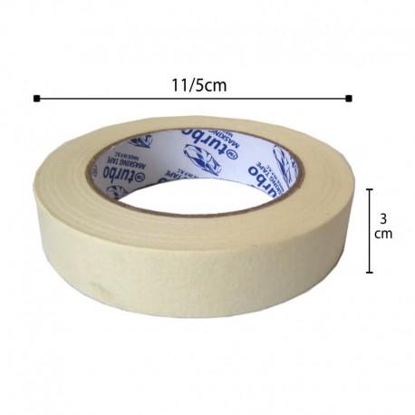 چسب کاغذی 3 سانتیمتر 50 یارد