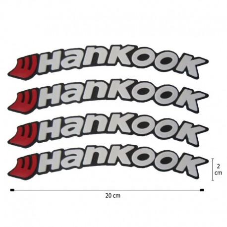 آرم روی لاستیک Hankook