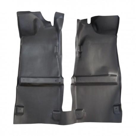 کفپوش یکپارچه چرم صنعتی مزدا تک کابین کارا جدید تیپ 3