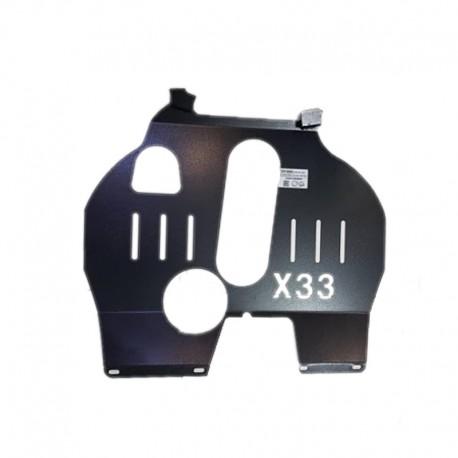 سینی زیر موتور ام وی ام X33