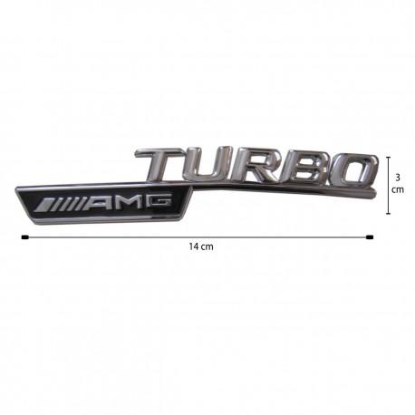 آرم فلزی برجسته AMG TURBO