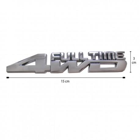 آرم فلزی برجسته 4WD
