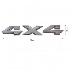 آرم فلزی برجسته جدید 4×4