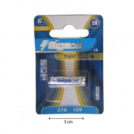 باتری قلمی 27A و 12 ولت gigacell