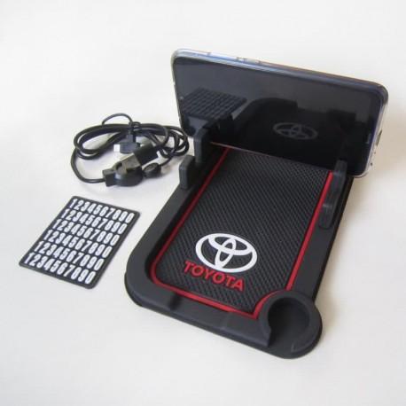 جا موبایلی شارژر دار جدید مدل TOYOTA