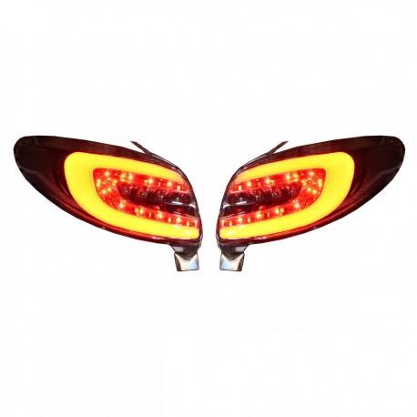 چراغ عقب (خطر) اسپرت 207 صندوقدار مدل 207 دودی