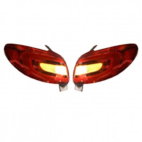 چراغ عقب (خطر) اسپرت 206 مدل 207
