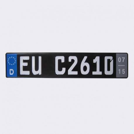 پلاک اسپرت اروپایی