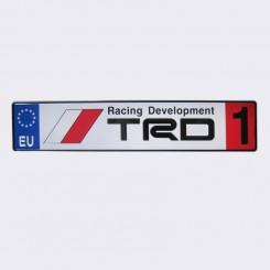 پلاک اسپرت اروپایی TRD