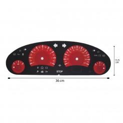 صفحه کیلومتر لنزو پژو 405 قدیم مدل بنز 01 CLK