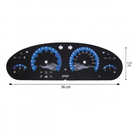 صفحه کیلومتر لنزو سمند مدل GTR