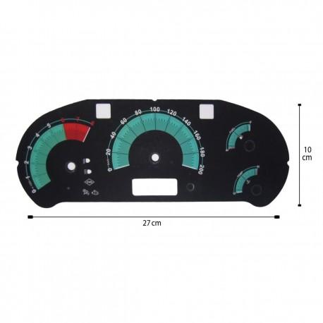 صفحه کیلومتر لنزو تیبا1 مدل اسپارک 03