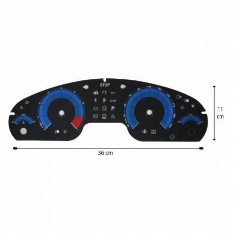 صفحه کیلومتر لنزو پژو 405 جدید مدل بی ام و 03