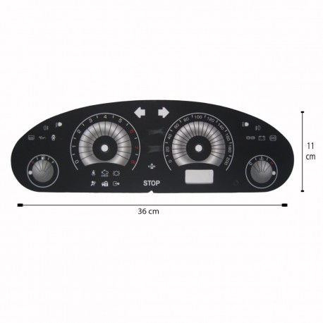 صفحه کیلومتر لنزو پژو 405 قدیم مدل SAAB 03