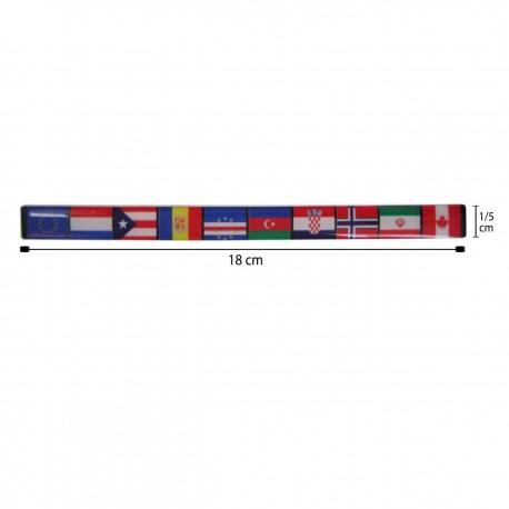آرم برچسب ژله ای پرچم طرح 2