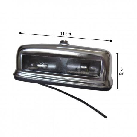 چراغ پلاک فلزی