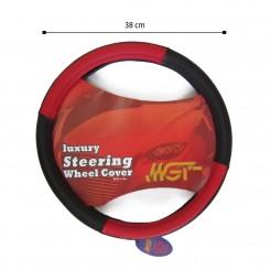 روکش فرمان MGT حلقه ای مشکی قرمز کد 1016