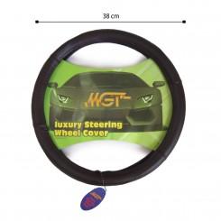 روکش فرمان MGT حلقه ای قهوه ای تیره کد 1039
