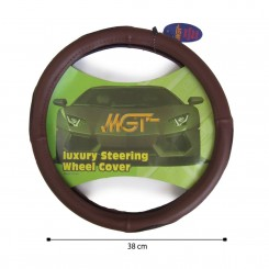 روکش فرمان MGT حلقه ای قهوه ای کد 1041