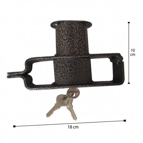 قفل پدال قفل دار اطلس شرق پژو 206