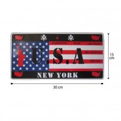پلاک اسپرت پرچم آمریکا