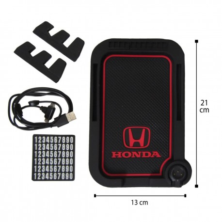 جا موبایلی شارژر دار جدید مدل HONDA