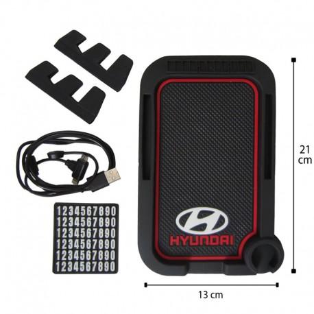 جا موبایلی شارژر دار جدید مدل HYUNDAI