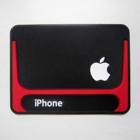 پد نگهدارنده ژله ای موبایل آرم دار IPhone