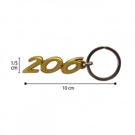 سر کلیدی طلایی 206