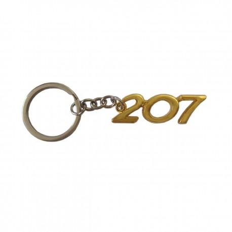 سر کلیدی طلایی طرح 207