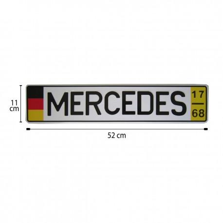 پلاک اسپرت اروپایی MERSEDES