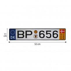پلاک اسپرت اروپایی BP