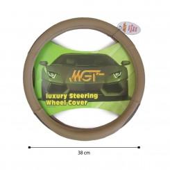 روکش فرمان MGT حلقه ای کرم قهوه ای کد 5698