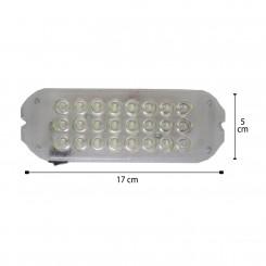 چراغ سقف ال ای دی سفید کد 175