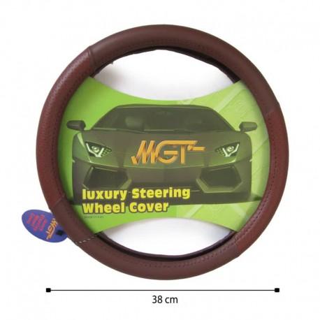 روکش فرمان MGT حلقه ای مارون قهوه ای کد 3006