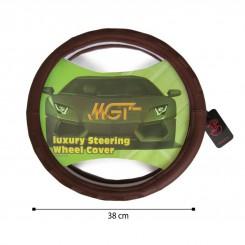 روکش فرمان MGT حلقه ای قهوه ای کد 5053