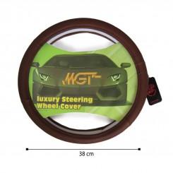 روکش فرمان MGT حلقه ای قهوه ای کد 5055