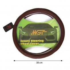 روکش فرمان MGT حلقه ای قهوه ای کد 5051