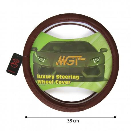 روکش فرمان MGT حلقه ای قهوه ای کد 5050
