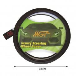 روکش فرمان MGT حلقه ای قهوه ای تیره کد 5048